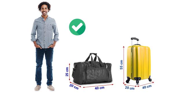 Bagaglio a mano Ryanair, misure, peso e nuove regole