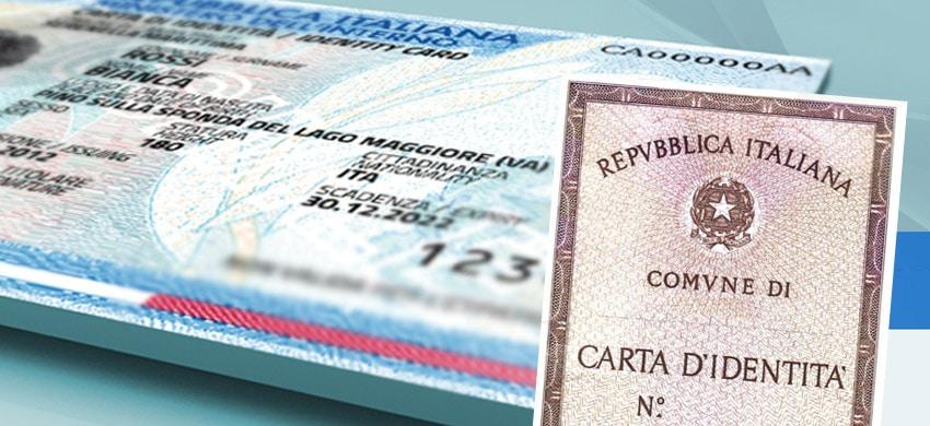 Carta di identità valida per l'espatrio