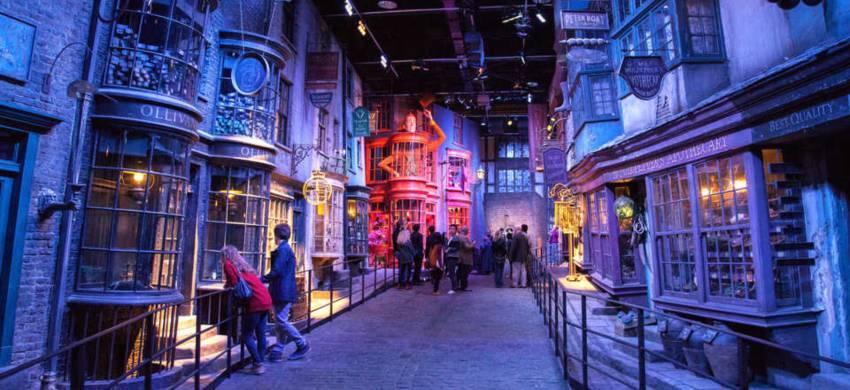 Diagon Alley negli Studios di Harry Potter